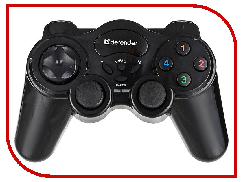 все цены на Геймпад Defender Game Master Wireless USB 64257