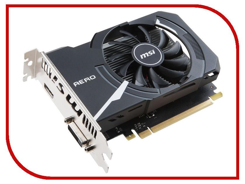 Видеокарта MSI GeForce GT 1030 1265Mhz PCI-E 3.0 2048Mb 6008Mhz 64 bit DVI HDMI HDCP GT 1030 AERO ITX 2G OC 912-V809-2492 видеокарта msi nvidia geforce gt 730 n730 2gd3v2 2гб ddr3 ret