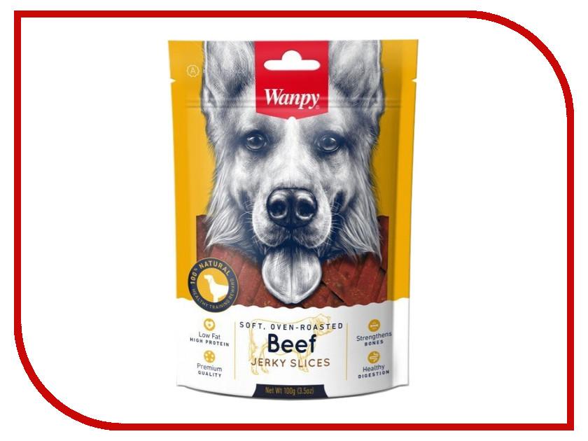 Лакомство Wanpy Dog Соломка из вяленой говядины 100g MA-04S