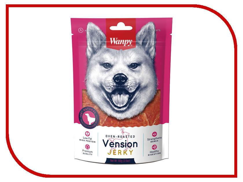 Лакомство Wanpy Dog Филе из оленины 100g VA-01H
