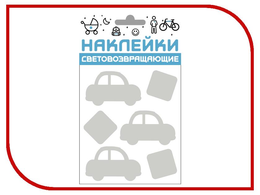 Светоотражатель Cova Наклейки Авто 100x85mm Metallic 333-421 наклейки на авто оранжевый слоник авто стикер цветной знак