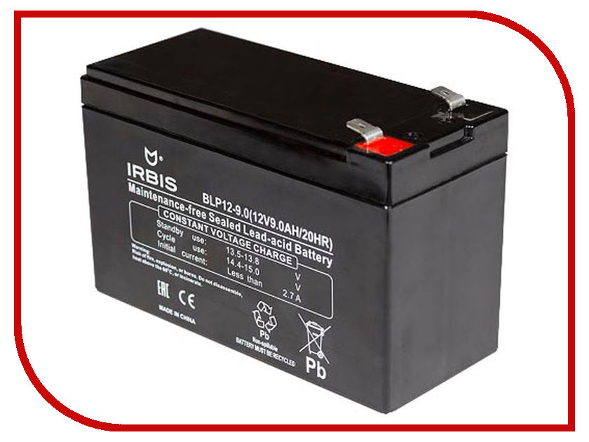 Аккумулятор для ИБП Irbis BLP12-9.0