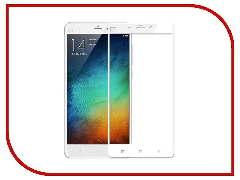 Аксессуар Защитное стекло Xiaomi Mi Max Mobius 3D Full Cover White 3d max