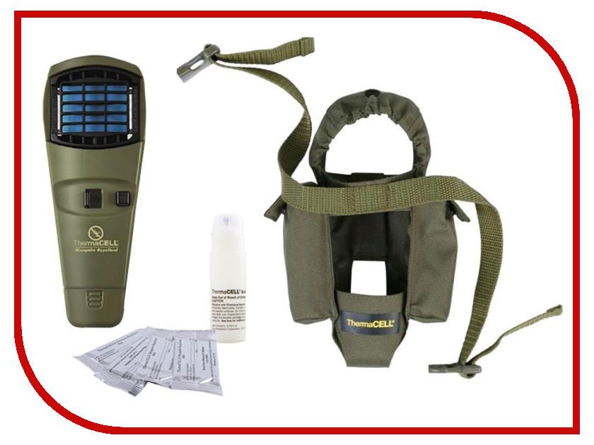 Средство защиты от комаров ThermaCELL MR SG Olive (прибор + 1 газовый картридж + 3 пластины + чехол)