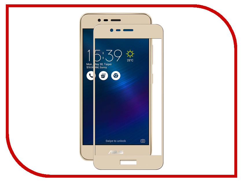 Аксессуар Защитное стекло для ASUS ZenFone 3 Max ZC520TL Mobius 3D Full Cover Gold pamelia phillips s singing for dummies