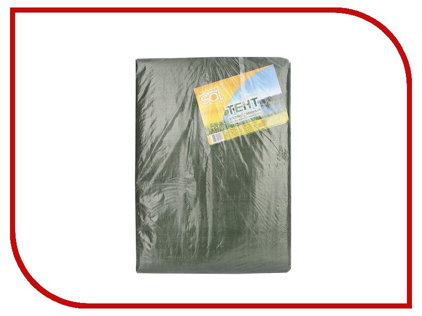 Тент Sol 2x3m Green SLTP-001.04 цена и фото