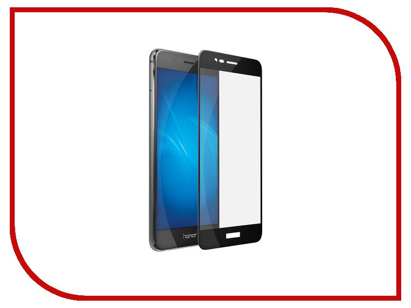 Аксессуар Защитное стекло Huawei Honor 8 Pro DF Fullscreen hwColor-07 Black аксессуар защитное стекло huawei nova df fullscreen hwcolor 04 gold