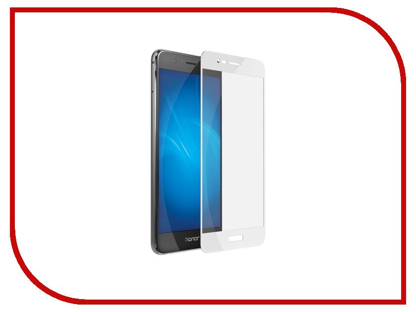 Аксессуар Защитное стекло Huawei Honor 8 Pro DF Fullscreen hwColor-07 White