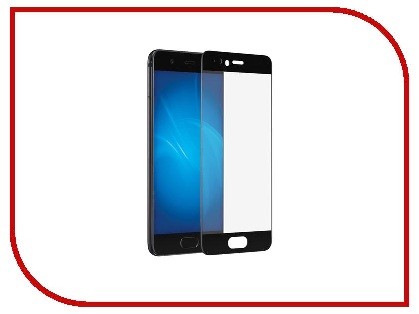 Аксессуар Защитное стекло Huawei P10 Plus DF Full Screen hwColor-10 Black аксессуар защитное стекло meizu u10 solomon full cover black