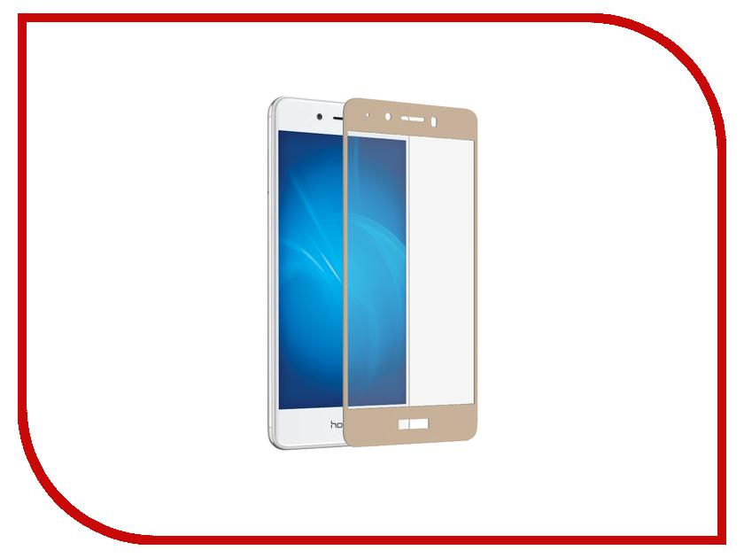 Аксессуар Защитное стекло Huawei Honor 6C DF Fullscreen hwColor-11 Gold аксессуар защитное стекло huawei nova df fullscreen hwcolor 04 gold