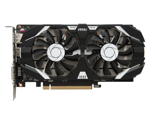 Видеокарта MSI GeForce GTX 1050 Ti 1341Mhz PCI-E 3.0 4096Mb 7008Mhz 128 bit DVI HDMI HDCP TI 4GT OC