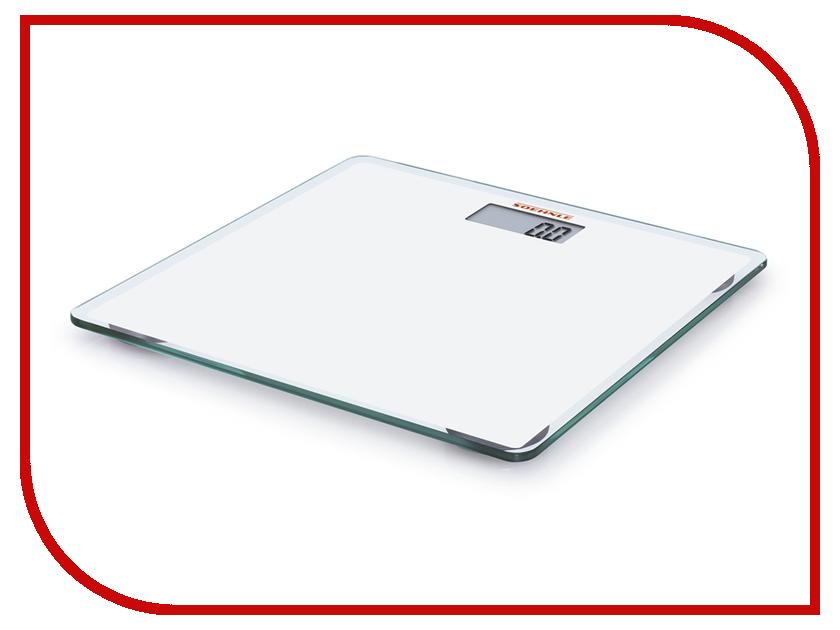 Весы напольные Soehnle Slim Design White 63558 soehnle 63760 body balance comfort select