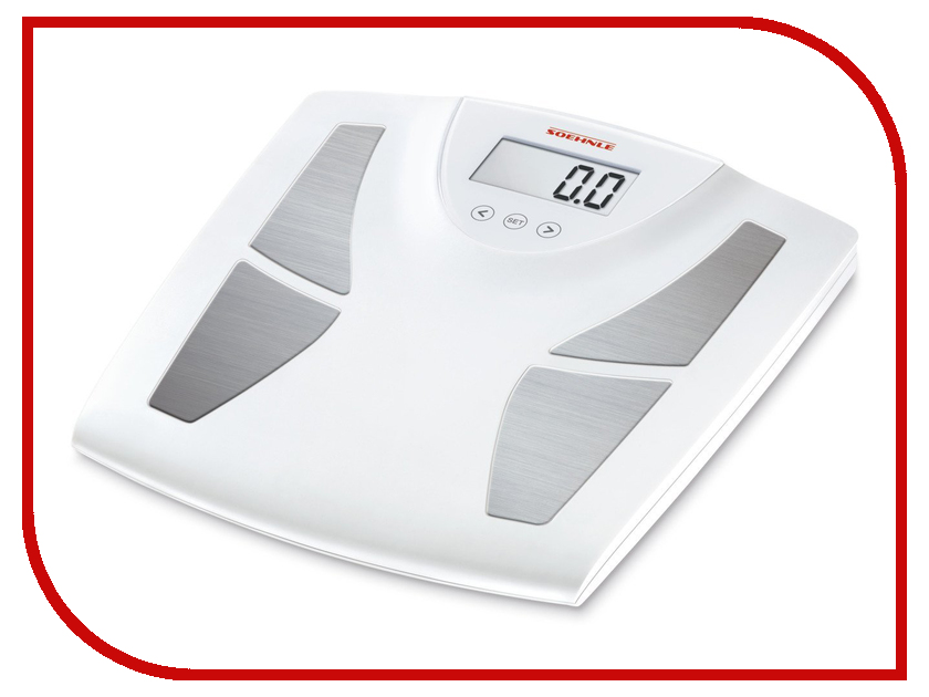 Весы напольные Soehnle Body Balance Active Shape White 63333