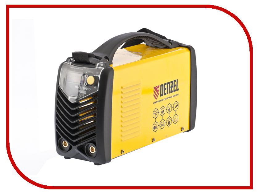 Сварочный аппарат Denzel MMA-220ID 94348  denzel dwp 1500