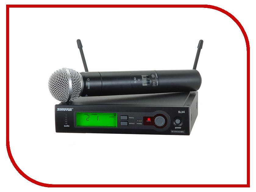 Радиосистема SHURE SLX24E/58 L4E