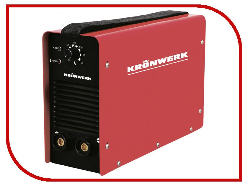 Сварочный аппарат Kronwerk MMA-200IW 94343 сварочный трансформатор спец мма 180 ас s