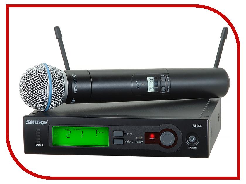Радиосистема Shure SLX24E/B58-P4