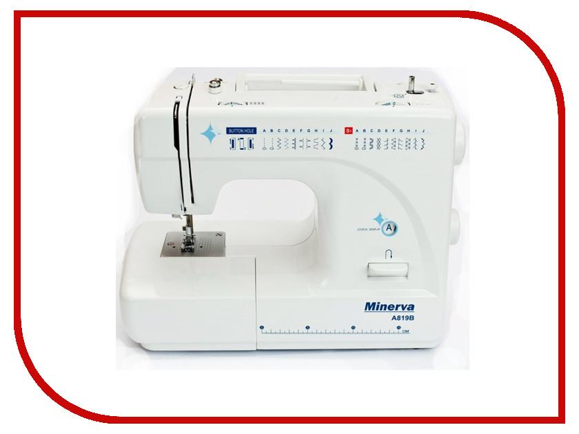 Швейная машинка Minerva A819B швейная машинка astralux 7350 pro series вышивальный блок ems700