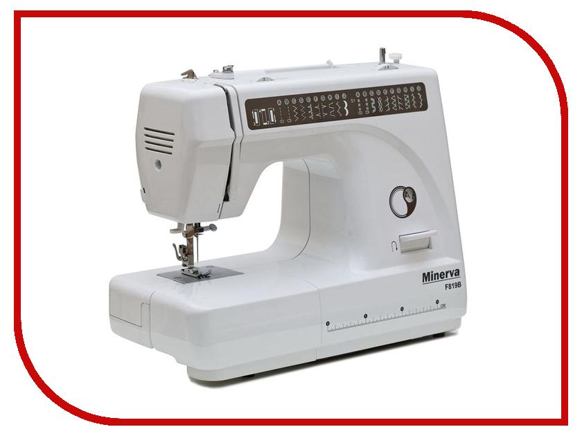 Швейная машинка Minerva F819B швейная машинка juki hzl f 300