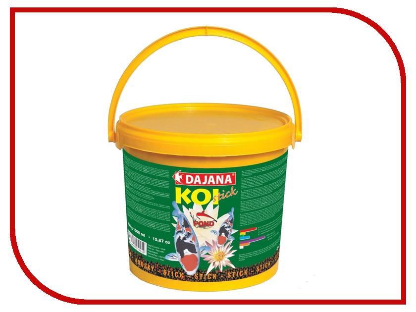 Корм Dajana Koi Stick 5000ml для рыб DP303F dajana корм для рыб dajana neon mini granules гранулы 100мл