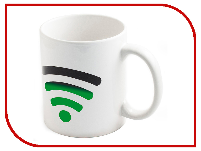 Кружка Эврика кружка-хамелеон Включи WiFi 98050