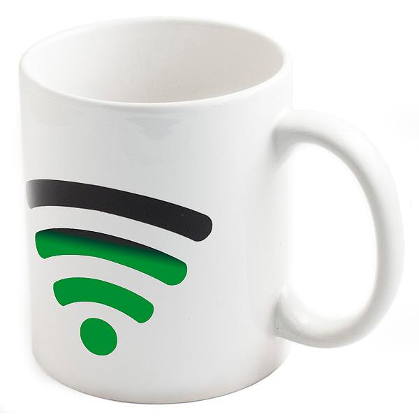 Кружка Эврика Хамелеон Включи WiFi 98050