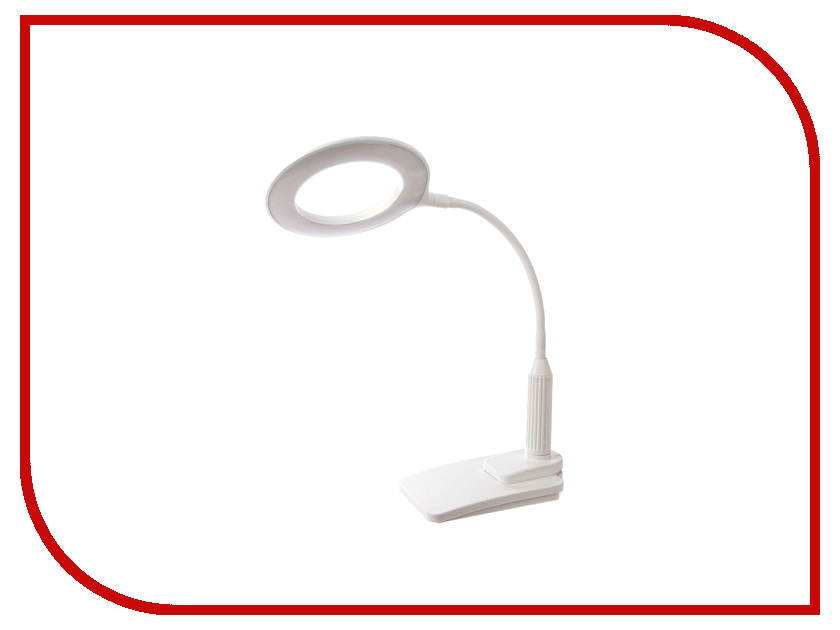 Настольная лампа Camelion KD-814 C01 White лампа настольная camelion kd 017bс02