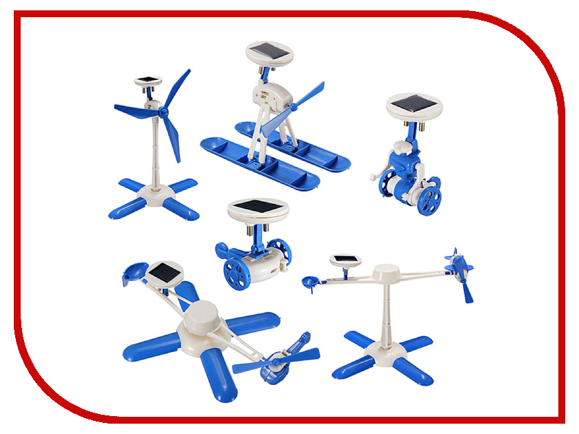 Конструктор Merlin 6-in-1 Diy Educational Solar Robot Kit maikou 7 in 1 solar diy assembling toys space educational toy