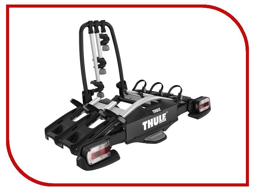 Крепление для перевозки на автомобиле Thule VeloCompact 927 на фаркоп, для 3-х велосипедов крепление для перевозки на автомобиле thule hangon 9708 на фаркоп для 4 х велосипедов