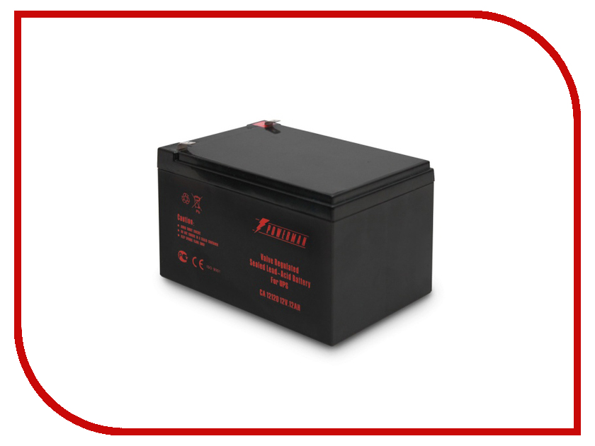 Аккумулятор для ИБП PowerMan CA12120 батарея powerman ca12120 ups 12v 12ah