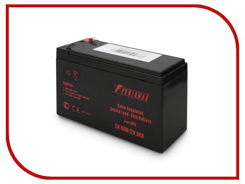 Аккумулятор для ИБП PowerMan CA1290 батарея powerman ca1290 12v 9ah