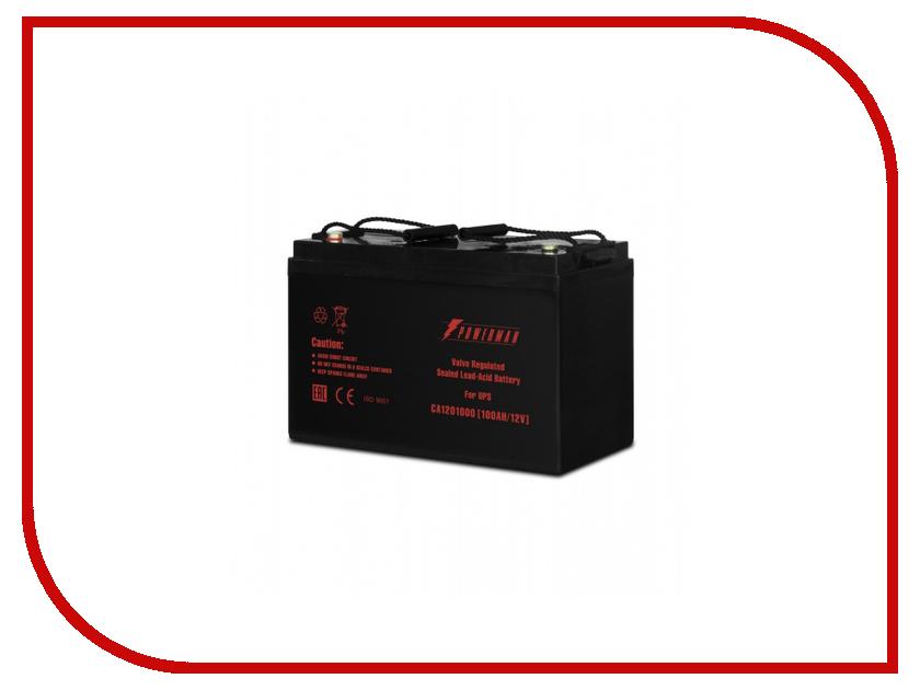 Аккумулятор для ИБП PowerMan CA121000 аккумулятор для ибп apc 106 apcrbc106