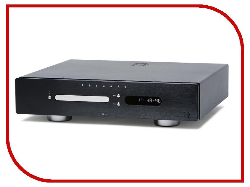 CD-проигрыватель Primare CD22 Black cd проигрыватель exposure 2010s2 cd black