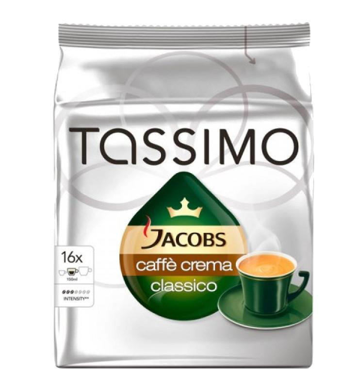 Капсулы Tassimo Caffe Crema капсулы tassimo caffe crema