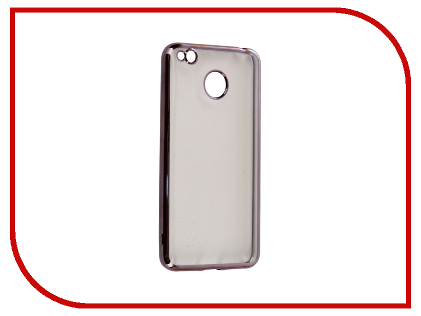 Аксессуар Чехол Xiaomi Redmi 4X iBox Blaze Silicone Black frame ibox ut000004576 black