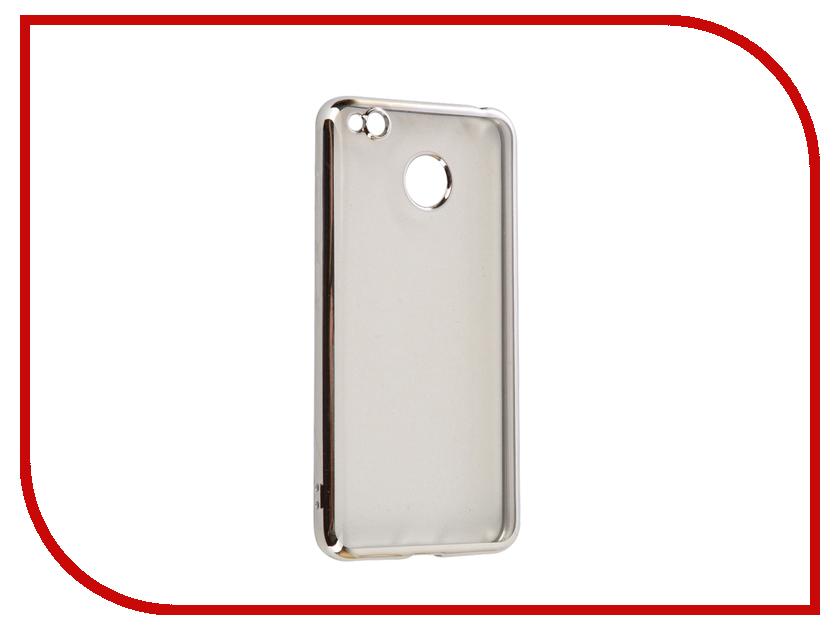 Аксессуар Чехол Xiaomi Redmi 4X iBox Blaze Silicone Silver frame аксессуар чехол xiaomi redmi 3 3s 3 pro ibox blaze silicone gold frame