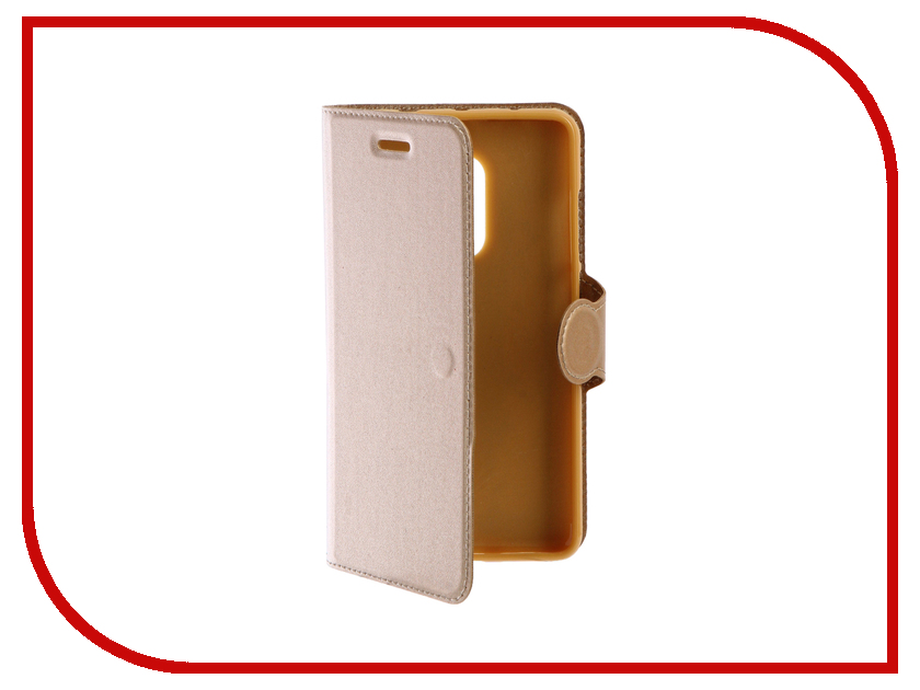 Аксессуар Чехол для Xiaomi Redmi Note 4 Red Line Book Type Gold УТ000010111 чехол книжка red line book type для xiaomi redmi 5 black