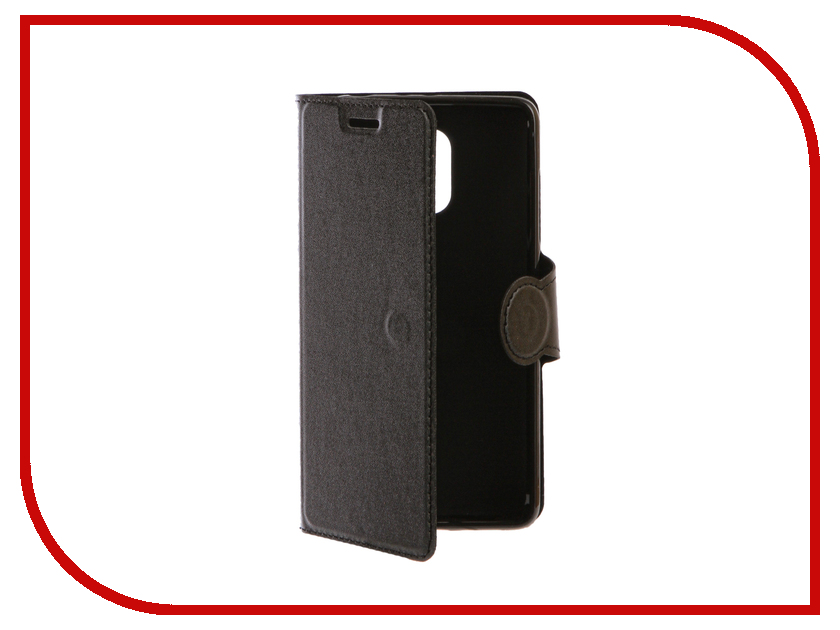Аксессуар Чехол Xiaomi Redmi 4 Red Line Book Type Black аксессуар чехол xiaomi redmi note 4 red line book type gold