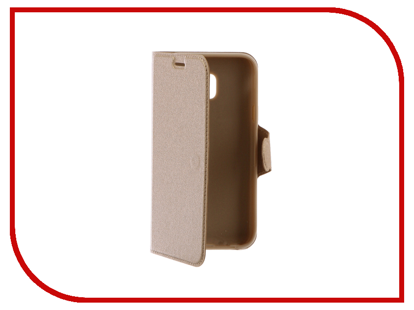 Аксессуар Чехол Samsung Galaxy J3 2017 Red Line Book Type Gold аксессуар чехол huawei y3ii red line book type gold