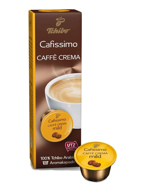 Капсулы Tchibo Caffe Crema Mild 10шт цены