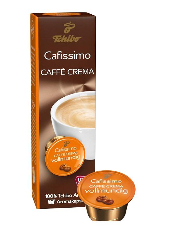 Капсулы Tchibo Caffe Crema Vollmundig 10шт цены