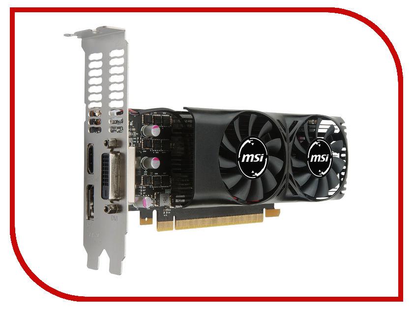 Видеокарта MSI GeForce GTX 1050 1354Mhz PCI-E 3.0 2048Mb 7008Mhz 128 bit DVI HDMI HDCP Low Profile GTX 1050 2GT LP купить geforce gtx 980 msi