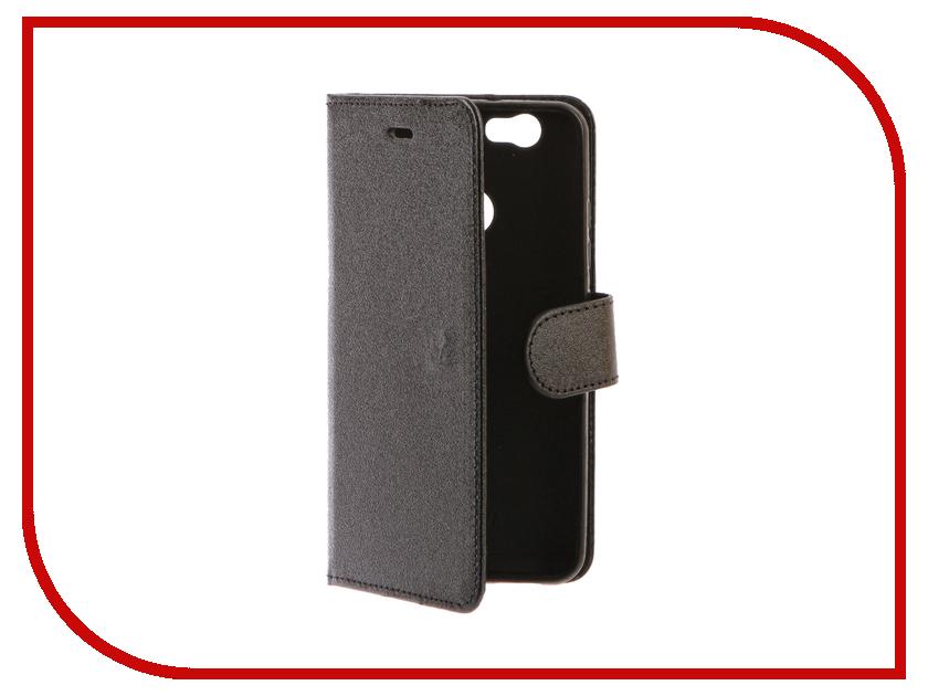 Аксессуар Чехол Huawei Nova Red Line Book Type Black