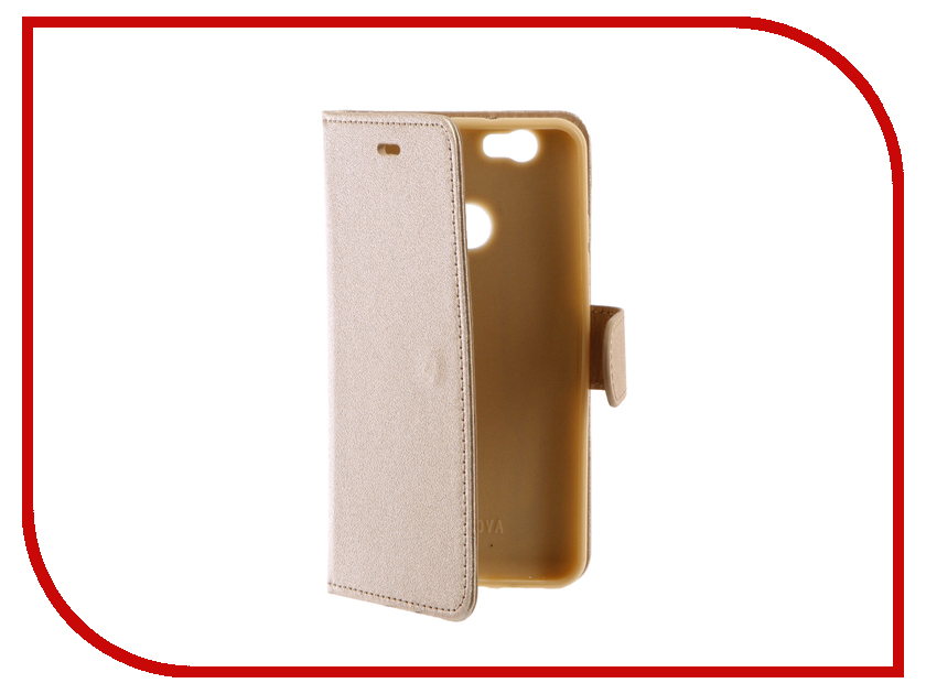 Аксессуар Чехол Huawei Nova Red Line Book Type Gold аксессуар чехол huawei y3ii red line book type gold