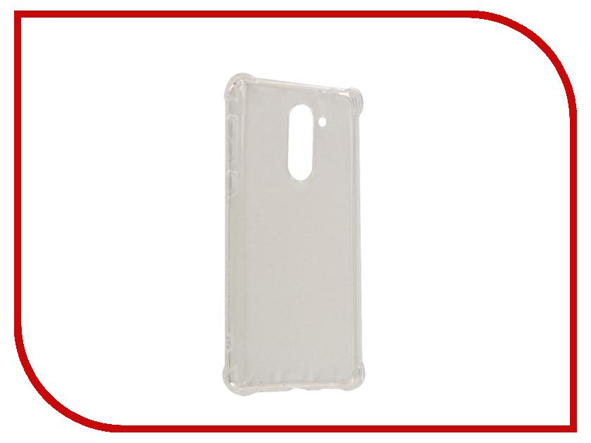 Аксессуар Чехол Huawei Honor 6X Gecko Silicone Glowing White S-G-SV-HUAW6X-WH<br>