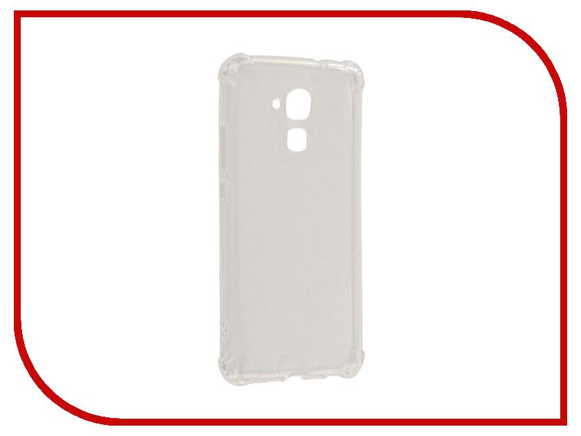 Аксессуар Чехол Huawei Honor 5C Gecko Silicone Glowing White S-G-SV-HUAW5C-WH<br>