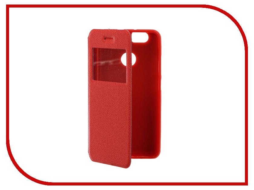 Аксессуар Чехол Huawei Nova Gecko Book Red G-BOOK-HUAW-NOV-RED аксессуар чехол huawei nova zibelino classico black zcl hua nov blk