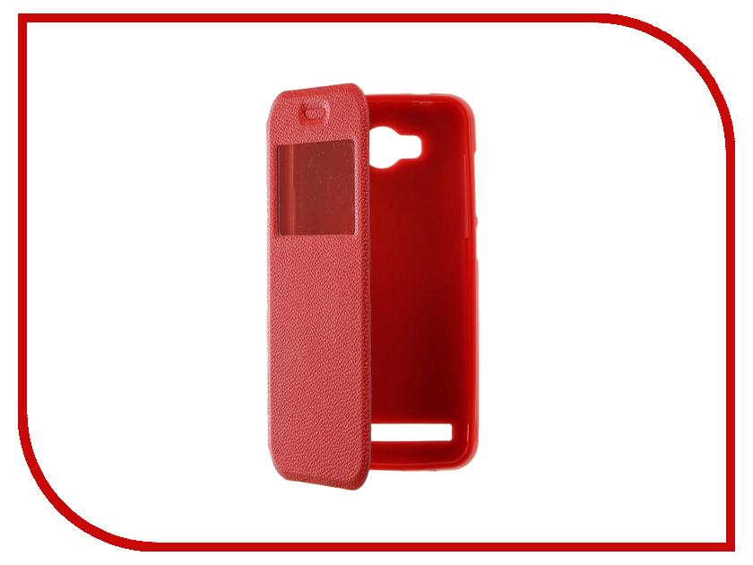 Аксессуар Чехол Huawei Honor Y3II Gecko Book Red G-BOOK-HUAW-Y3 II-RED аксессуар чехол xiaomi mi5s gecko book red g book xiam 5s red