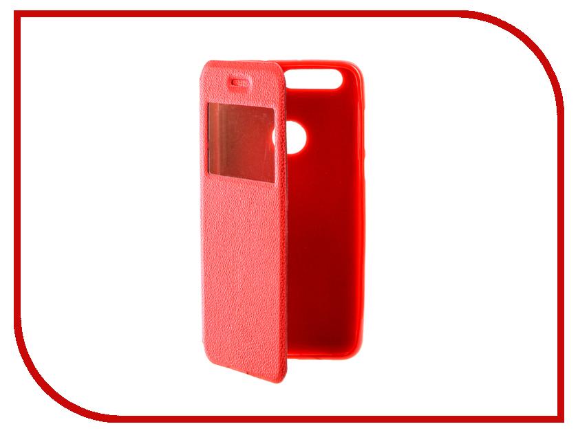 Аксессуар Чехол Huawei Honor 8 Gecko Book Red G-BOOK-HUAW-H8-RED