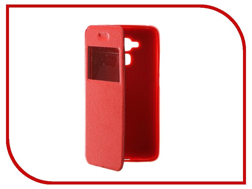 Аксессуар Чехол Huawei Honor 5C Gecko Book Red G-BOOK-HUAW-5C-RED аксессуар чехол xiaomi mi5s gecko book red g book xiam 5s red